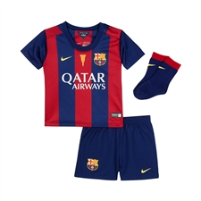 Nike FC Barcelona Home Infant 14'-15' Soccer Kit (Loyal Blue/Noble Red/Sunlight)