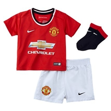 Nike Manchester United Home Infant '14-'15 Soccer Kit (Diablo Red/Football White)