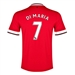 Nike Manchester United 'DI MARIA 7' Home '14-'15 Youth Replica Soccer Jersey (Diablo Red/Football White)