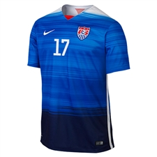 Nike Youth USA 2015 'ALTIDORE 17' Away Replica Soccer Jersey (Game Royal/Loyal Blue/White)