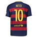Nike FC Barcelona 'MESSI 10' Home '15-'16 Youth Soccer Jersey (Loyal Blue/Storm Red/University Gold)