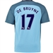 Nike Manchester City Youth 'DE BRUYNE' Home '16-'17 Soccer Stadium Jersey (Field Blue/Midnight Navy)