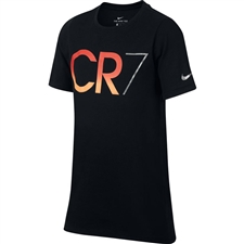 Nike Youth Ronaldo CR7 T-Shirt (Black)