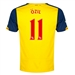 Puma Arsenal 'OZIL 11' Away '14-'15 Youth Replica Soccer Jersey (Empire Yellow/Estate Blue)