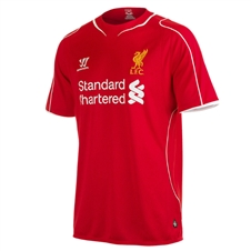 Warrior Liverpool Home Youth '14-'15 Replica Soccer Jersey (Red)