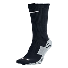 Nike MatchFit Socks (Black/Wolf Grey/White)