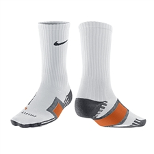 Nike Dri Fit Channel Cushioning Practice Sock (White)