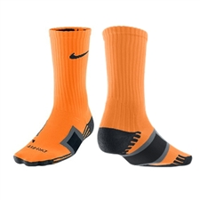 Nike Dri Fit Channel Cushioning Practice Sock (Bright Citrus)
