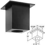 "DuraVent 46DVA-DC 4"" x 6-5/8"" Cathedral Ceiling Support Box"