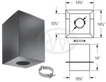 "DuraVent 4PVP-CS 4"" PelletVentPro Cathedral Ceiling Support Box"