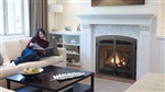 REGENCY BELLAVISTA B41XTE LARGE GAS FIREPLACE DIRECT VENT