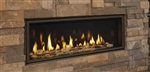 "MAJESTIC ECHELON II WIDE VIEW MODERN 48"" GAS FIREPLACE, DIRECT VENT"