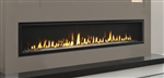 "MAJESTIC ECHELON II WIDE VIEW MODERN 72"" GAS FIREPLACE, DIRECT VENT"