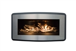 PACIFIC ENERGY ESPIRIT LINEAR ZERO CLEARANCE GAS FIREPLACE, DIRECT VENT