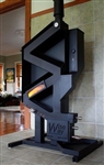WISEWAY NON-ELECRICAL GRAVITY FREE PELLET STOVE (OFF-GRID)