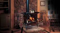 REGENCY HAMPTON H300 CAST IRON LARGE WOOD STOVE