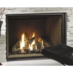 "KINGSMAN HBZDV4740 47"" GAS FIREPLACE DIRECT VENT 40,000 BTU  (CLEAN FACE OR LOUVERS)"