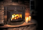 REGENCY HAMPTON HI300 CAST IRON MEDIUM WOOD STOVE INSERT