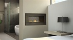 REGENCY HZ42STE SEE THROUGH CONTEMPORARY GAS FIREPLACE DIRECT VENT