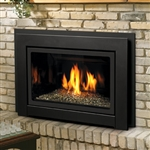 KINGSMAN IDV36 GAS FIREPLACE INSERT DIRECT VENT 34,000 BTU (CLEAN FACE OR LOUVERS) (LOG SET OR CRYSTALS)
