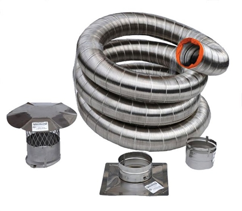 Forever Flex Double Wall Preinsulated 316ti Stainless
