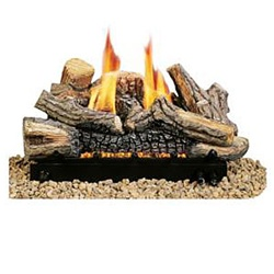 "24"" Monterey Pacific Fir Vented Ceramic Fiber Log Set MPF24VPA (Works with Liquid Propane Only!)"