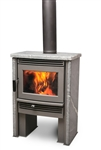 PACIFIC ENERGY NEOSTONE 1.6 SMALL CONTEMPORARY SOAPSTONE WOOD STOVE
