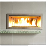 "Firegear OD42 Outdoor Linear Fireplace with 2"" Faceplate"