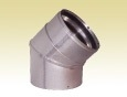 "ICC EXCEL PELLET PIPE 4"" X 45 DEGREE ELBOW"