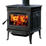 ALDERLEA T5 MEDIUM CAST IRON WOOD STOVE