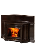 ALDERLEA T5 CLASSIC CAST IRON WOOD STOVE INSERT IN ENAMEL COATING