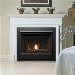 Kingsman Zdv3318 Small Gas Fireplace Direct Vent