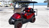 2015 Candy Apple Red Club Car Precedent Golf Cart