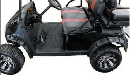 Ezgo Rxv Camouflage Fender Flares W Stainless Hardware