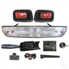 EZGO Deluxe Bar Headlight Street Legal Kit #LGT-152