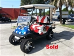 Club Precedent Electric Custom American Eagle Golf Cart