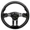 "13"" Aviator 5 Black Steering Wheel"