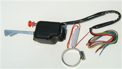 Black Turn Signal Switch Assembly