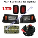 Yamaha G14-22 LED Headlight & LED Tail Light Kit #LGT-303L