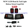 Yamaha G14-22 LED Deluxe Street Legal Light Kit #LGT-503L