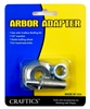 Craftics Buffing Wheel Arbor Adapter - 1/2""