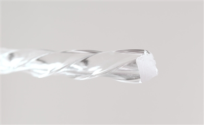 Clear Extruded Acrylic Sprial Rod