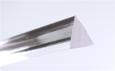 Triangular Clear Extruded Rod