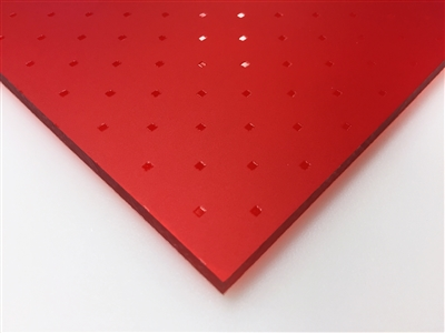 Acrylite Red Tunis Acrylic Sheet