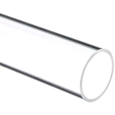 Clear Extruded Acrylic Tube