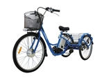 Daymak  Florence 500W 48V  Blue, Electric Bicycles