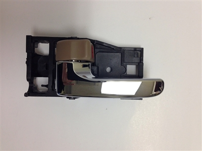 00-04 Avalon Interior Door Handle LH - Chrome/Fawn