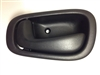 98-02  Corolla Interior Door Handle LH - Black