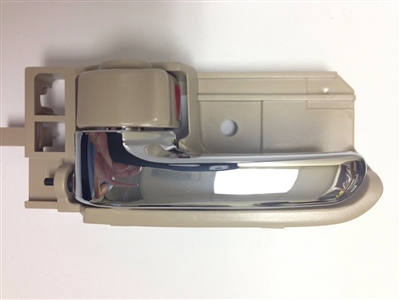 03-08  Corolla Interior Door Handle LH - Chrome/Beige