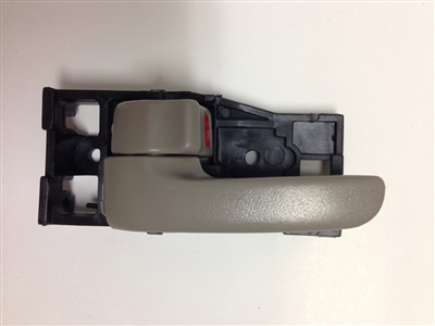 00-04 Tundra (regular cab/access cab) Interior Door Handle LH - Gray